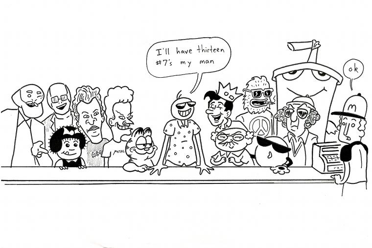 happy 100th comic