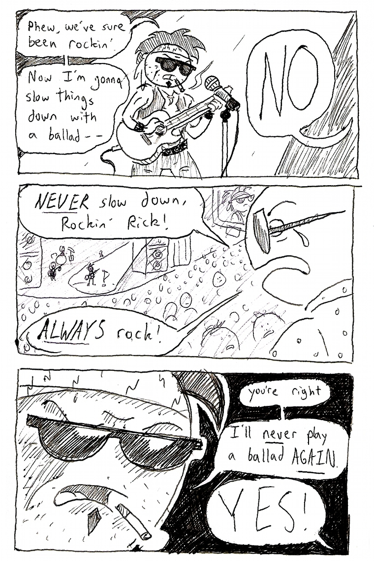 RIP the rock ballad