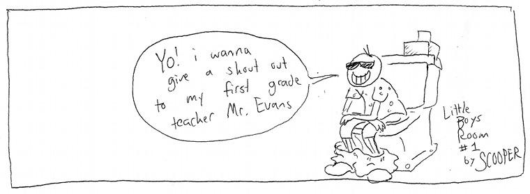 1 Log Salute for Mr. Evans